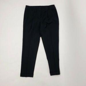 ANN TAYLOR LOFT Black Zoe Ankle Pants Size 2
